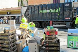Normalizada la situación en los puntos de recogida de residuos urbanos en Sóller