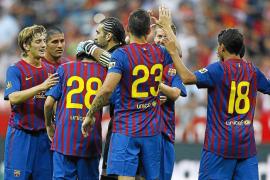 Carmona ofrece a Guardiola lo mejor de su repertorio