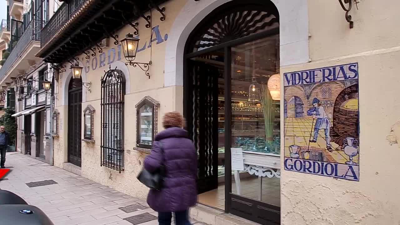 «La reina Sofía es una enamorada de siempre del vidrio de Gordiola»