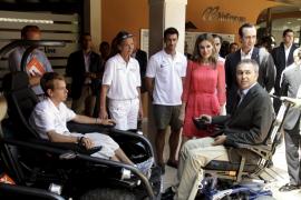 La Princesa de Asturias visita la Fundación Handisport