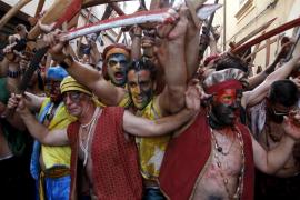 BATALLA DE MOROS Y CRISTIANOS DE POLLENÇA