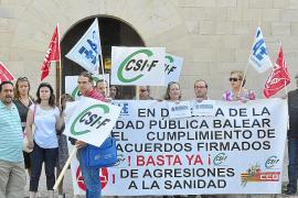 Los sindicatos temen que el Govern utilice el plan de ajuste para despedir interinos