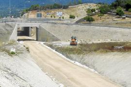 Crispación en el Llevant por la paralización de las obras de la línea férrea Manacor-Artà
