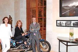 Exposición 'Harleys on the Road' en el Castillo Hotel Son Vida