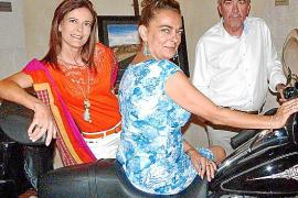 Exposición de Harleys en el Castillo Hotel Son Vida
