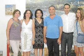 Inauguración de la exposición 'Etapas' de Jorge Azri en Inca