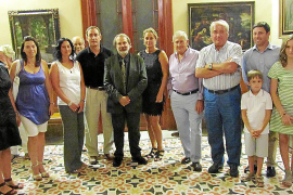 Carlos Ciriza presenta su obra en Can Prunera y en la Galería Vanrell