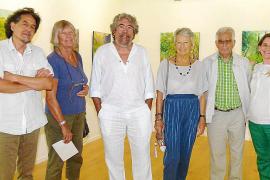 Inauguración de la muestra de Emili Parejo