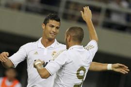 Cristiano y Benzemá suben el nivel de un Madrid a medio gas