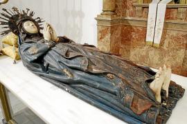 S'Arracó recupera tras 45 años el Llit de la Mare de Déu con una imagen del siglo XVI