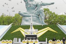 Nagasaki conmemora el 66 aniversario del bombardeo atómico