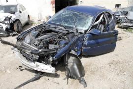 Un hombre de 43 años muere tras un accidente en la autopista de Llucmajor