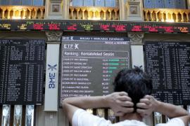 La Bolsa española registra la mayor caída desde mayo de 2010, el 5,49 %