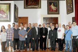 Primeros actos en Mallorca para los peregrinos de la Jornada de la Juventud