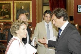 El PP acusa a Calvo de ocultar que Cort recibiría menos dinero de Madrid