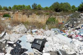Xorrigo, un vertedero tras la retirada de los contenedores de Algaida