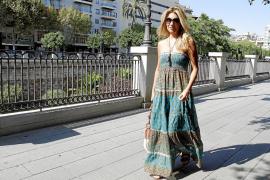 Patricia Rato, en Palma: «Mis vacaciones son muy familiares»