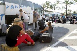 Huelga de transporte discrecional