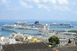 Los puertos de Balears acogen un 7% más de cruceros en el primer semestre de 2011