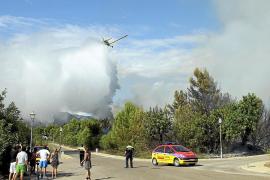 Extinguidos cuatro incendios forestales más en Mallorca