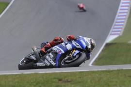 Lorenzo: «La elección del neumático delantero no ha sido buena»