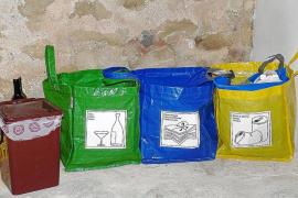 Montuïri no recogerá las bolsas de basura que incumplan la separación de residuos