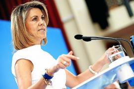 Cospedal: «Rubalcaba fue el portavoz del GAL y es el ministro del bar Faisán»