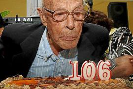 Fallece a los 106 años el vecino de Son Sardina Antoni Mut, el hombre de más edad de Mallorca