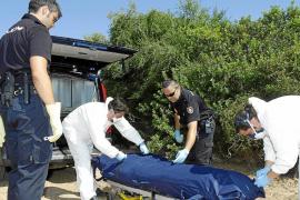 Localizan el cadáver de un hombre con dos bolsas de basura en la cabeza  en ses Fontanelles