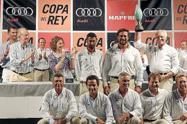 Entrega de trofeos de la Copa del Rey