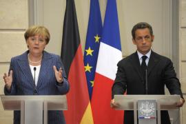 Merkel y Sarkozy proponen la creación de un gobierno económico europeo
