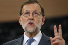 Rajoy, en Twitter: «Ahí estamos. Hala Madrid»