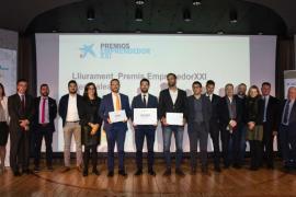 Hotelinking, ganadora de los premios EmprendedorXXI de Baleares de CaixaBank