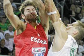 España tropieza en el ensayo