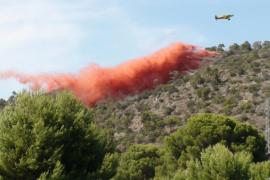 Un total de 98 incendios forestales han quemado 2.226 hectáreas en Balears