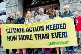 López de Uralde y otros miembros de Greenpeace no irán a prisión
