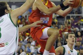 Rudy se lesiona en el triunfo de España