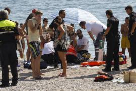 Muere ahogada una mujer de 65 años en la playa de es Molinar
