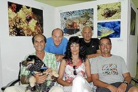 Guillermo Féliz inaugura 'Mirades', su exposición de fotografía subacuática