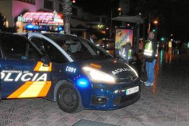 Trece detenidos en un control contra la inmigración ilegal en Platja de Palma