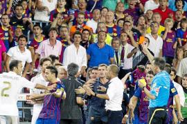 El Madrid denuncia insultos y agresiones en el Camp Nou