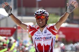Joaquim «Purito» Rodríguez gana la quinta etapa y Chavanel sigue líder