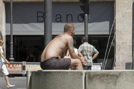 Mallorca está en alerta amarilla por riesgo de  altas temperaturas que pueden rondar los 36 grados