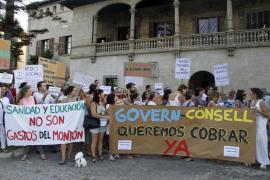Trabajadores del centro Gaspar Hauser reclaman al Govern el pago de sus nóminas