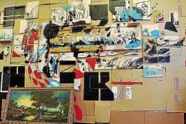 El colectivo 'Fuzk' expone en Palma desperdicios reconvertidos en obras de arte