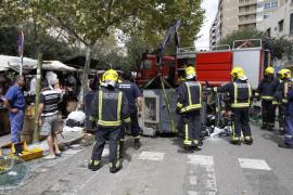 Al borde de la tragedia en Palma