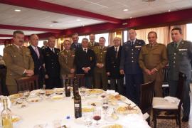 La Hermandad de Veteranos de las FAS recibió al general Rodríguez-Gallarza