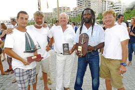 Entrega de trofeos de la XXVII regata Almirante Conde de Barcelona de barcos de Época y Clásicos
