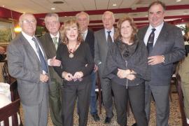 La Hermandad de Veteranos de las FAS recibió la visita del general Rodríguez-Gallarza