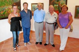 Inauguración de la exposición sobre Crstòfol 'Salero'